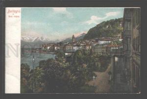 097117 ITALY Bellagio Grd. Hotel Vintage colorful PC