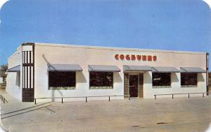 San Angelo Texas~Cogburn's Chicken Shanty~ART DECO Diner~1950s Postcard