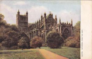 EXETER, Devon, England, 1900-1910's; Cathedral From The East