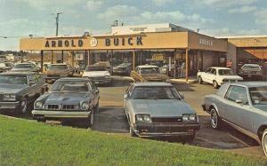 Hurffville NJ Arnold Buick Dealership Postcard