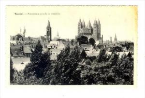 Panorama Pris De La Citadelle, Tournai (Hainaut), Belgium, 1910-1920s