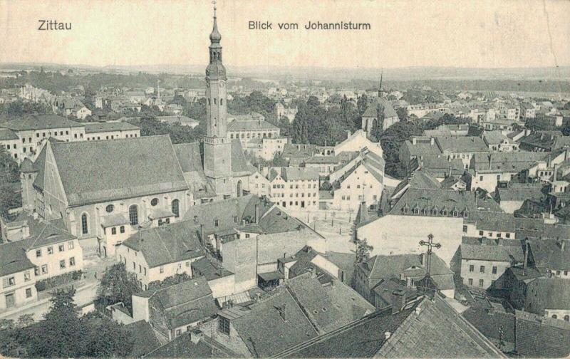 Czech Republic Zittau Blick vom Johannisturm 02.30