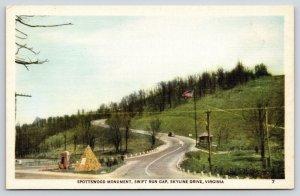 Skyline Drive~Swift Run Gap~Spottswood Knights of Golden Horseshoe Pyramid~1930s
