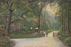 Scarborough Lady Ediths Drive Antique Postcard