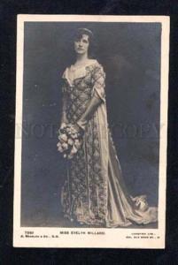 014433 Evelyn MILLARD English OPERA Singer ACTRESS old PHOTO