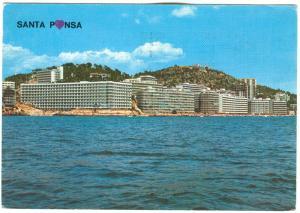 Spain, Santa Ponsa, used Postcard
