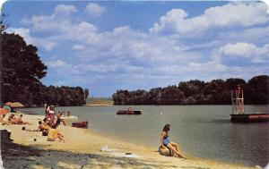 Echo Lake Pennsylvania~Vacation Valley Resort Beach~Poconos~Bathing Beauties~50s