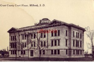 GRANT COUNTY COURT HOUSE, MILBANK, SD.