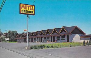 Exterior View of Motel Damour, Riviere-du-Loup, Quebec, Canada, 40-60´s