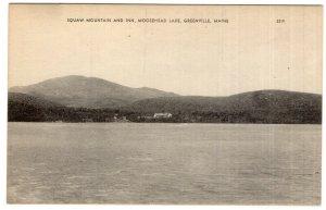 Greenville, Maine, Squaw Mountain and Inn, Moosehead Lake