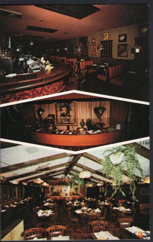 FL Tiffany's Restaurant/Lounge Interior Tyrone Blvd ST. PETERSBURG 1950s-1970s