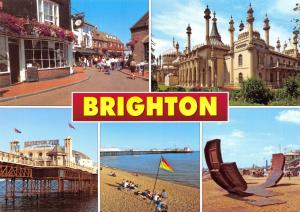 Postcard BRIGHTON Multiview, East Sussex by J. Salmon Ltd #2621230