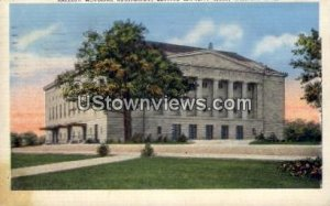 Raleigh Memorial Auditorium in Raleigh, North Carolina