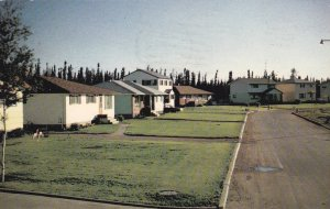 Homes on Riverside Drive, Thompson, Manitoba, Canada, 40s-60s