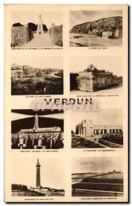 Old Postcard The Port De Vaux Verdun Army