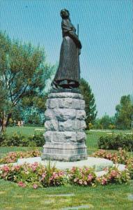 Canada Nova Scotia Evangeline Monument Grand Pre Park