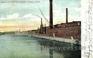 Mills, Merrimac River Lowell MA 1905