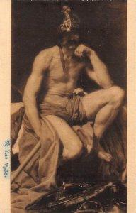 El Dios Marte Velazquez Museo del Prado Postcard