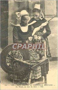 COPY 414 manners customs and costumes Breton at the wheel a jiffy