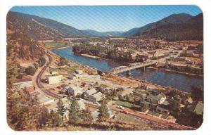 Enterprising town on the picturesque Clarkfork River, Superior, Montana,  PU-...