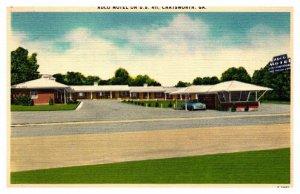 georgia Chatsworth  ADCO motel