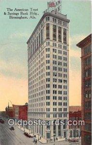American Trust & Savings Bank Building Birmingham, Alabama, USA Unused