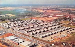 Atlanta Forest Park Georgia~State Farmers Market~1960 Birdseye Panorama~Postcard