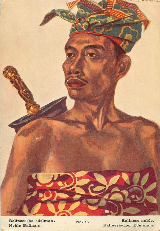 Indonesia ethnic Balinese noble