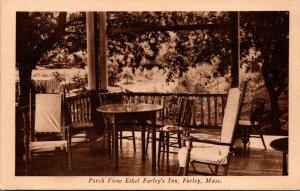 Massachusetts Farley Porch View Ethel Farley's Inn