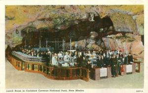 Lunch Room in Carlsbad Caverns National Park, New Mexico ...