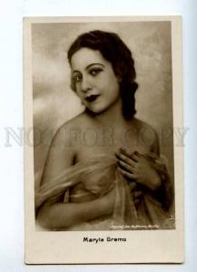 216118 NUDE Maryla GREMO Actress BALLET DANCER Vintage PHOTO