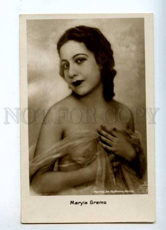 216118 NUDE Maryla GREMO Actress BALLET DANCER Vintage PHOTO