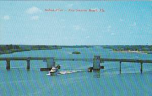 Florida New Smyrna Beach South Bridge Over Indian River