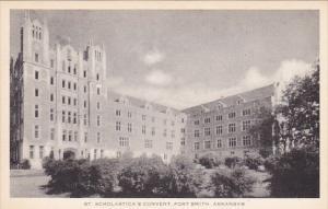 St Scholastica's Convent , FORT SMITH , Arkansas , 30-50s