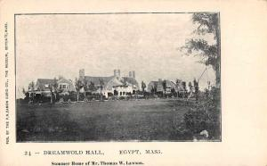Egypt Massachusetts Dreamworld Scenic View Antique Postcard J75241