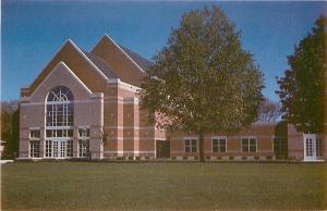 Orange City Iowa~Northwestern College~Christs Chapel~Arts Center~1980s Postcard