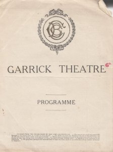 The Purse Strings Walton On Thames Bernard Parry Comedy Garrick Theatre Progr...