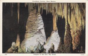 CARLSBAD CAVERN, New Mexico, 1930-1940's; Temple Of The Sun, Big Room