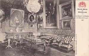 Belgium Brussells Palais Royal Les Appartements du Khedive Le Cabinet de Travail