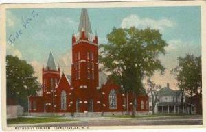 Methodist Church, Fayetteville, North Carolina, 10-20s