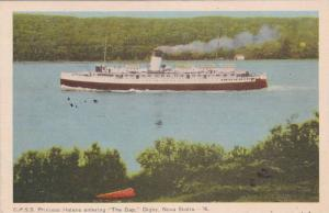C.P.S.S. Princess Helene entering The Gap , Digby Nova Scotia , Canada , PU...
