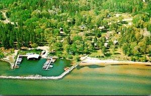 Minnesota Bena Aerial View Judd's Resort