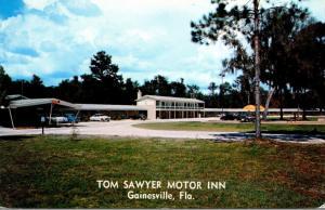 Florida Gainesville Tom Sawyer Motor Inn 1955