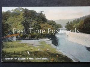 Durham GOTHERSTONE Junction of Balder & Tees - Old Postcard by Heslop's