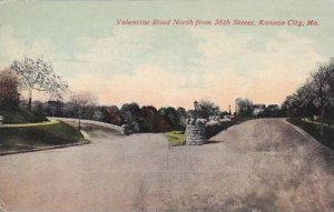 Missouri Kansas City Valentine Road North From 38th Street 1913