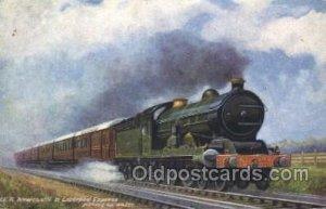Liverpool Express Train Locomotive  Steam Engine Unused
