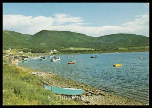 Bay St. Lawrence at northern Cape Breton