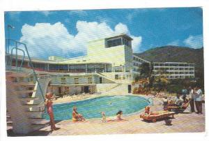 Swimming Pool, Virgin Isle Hotel, St. Thomas, Virgin Islands, PU-1962