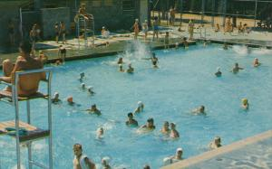 Swimming Pool, Courson Park, PALMDALE, California, 40-60´
