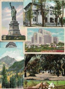 Huge Mixed USA Postcard Lot of 50  01.16